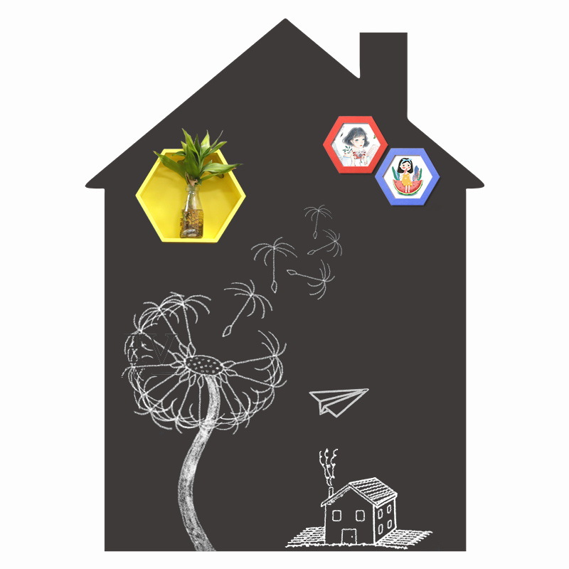 House Shape Removable Chalkboard Sticker