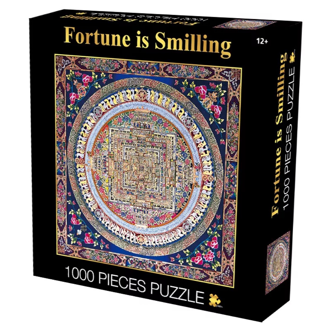 2D Jigsaw Puzzle Fortune is Smiling 1000pieces Puzzle